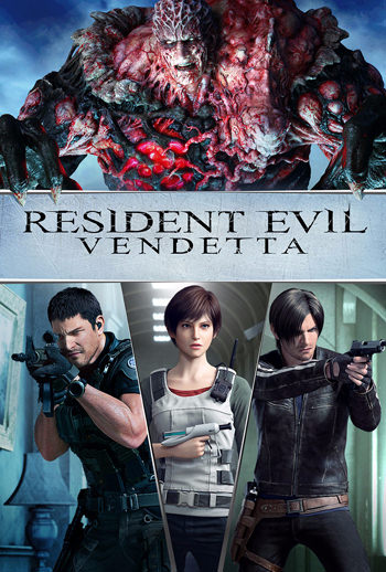 Resident Evil Vendetta 2017 English