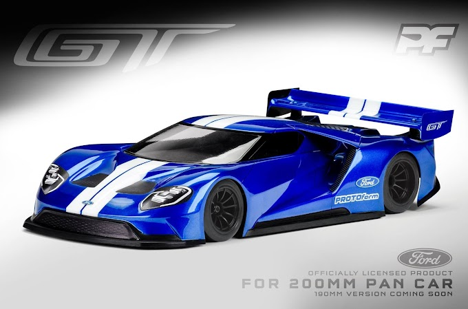 Protoform Ford GT para chassis 200mm