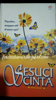 Review Novel ~ Sesuci Cinta