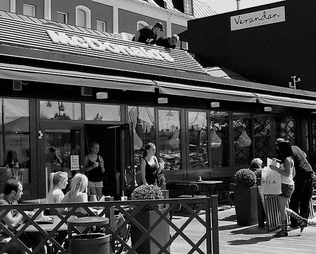 Klassisk gatufotograf dod