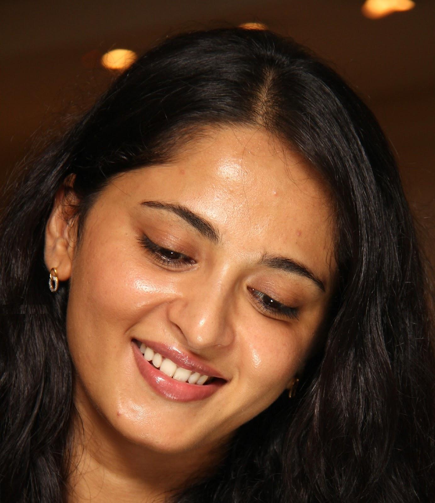 Anushka Shetty Pimple Face Close Up Stills
