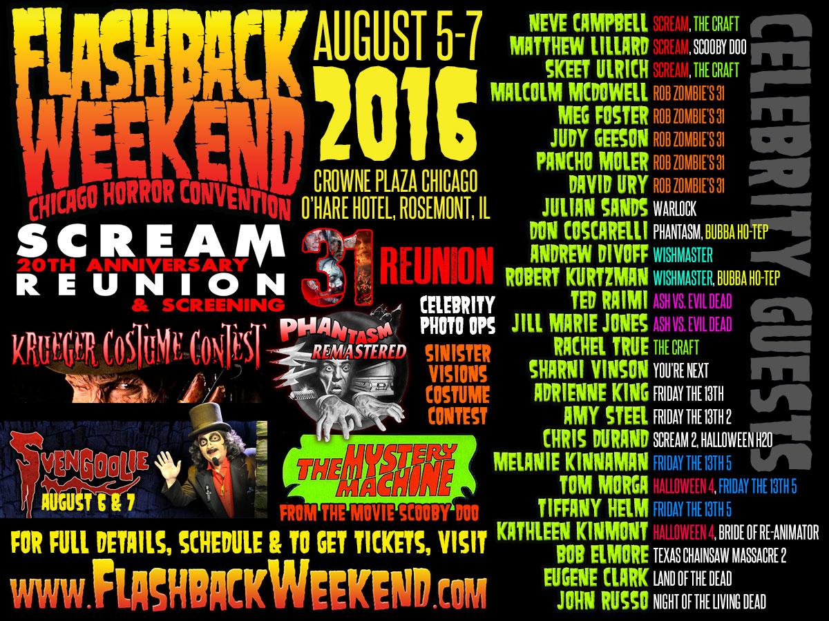 Flashback Weekend Chicago Horror Convention