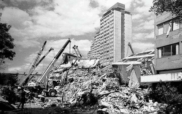 sismos en la historia de México