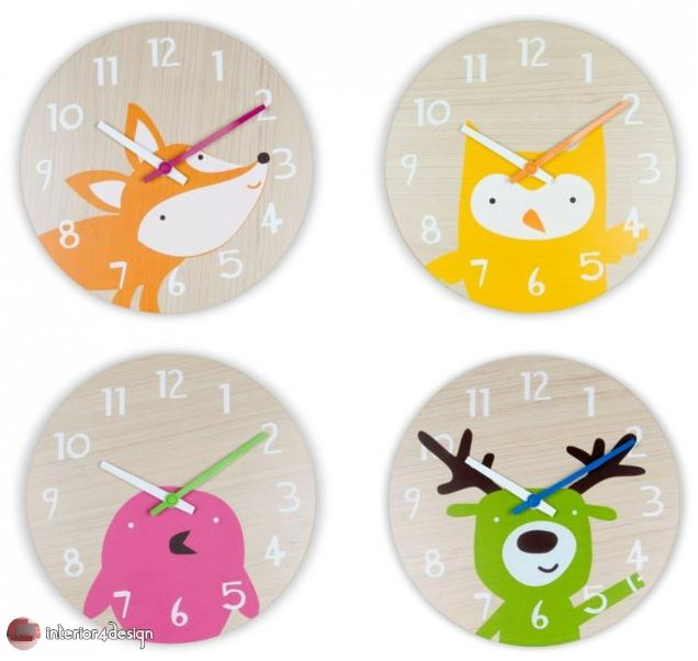 Wall Clocks For Kids Rooms 15