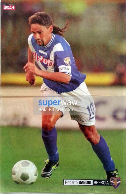 Poster Roberto Baggio (Brescia)