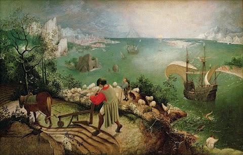 Ikarus'un Düşüşü Sırasında Bir Manzara