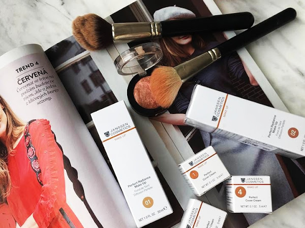 Janssen Cosmetics: Perfect Radiance Make Up a Perfect Cover Cream