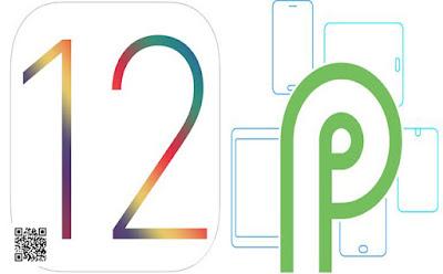 ماهو النظام الافضل اندرويد بيتا P  ام  IOS 12 ؟