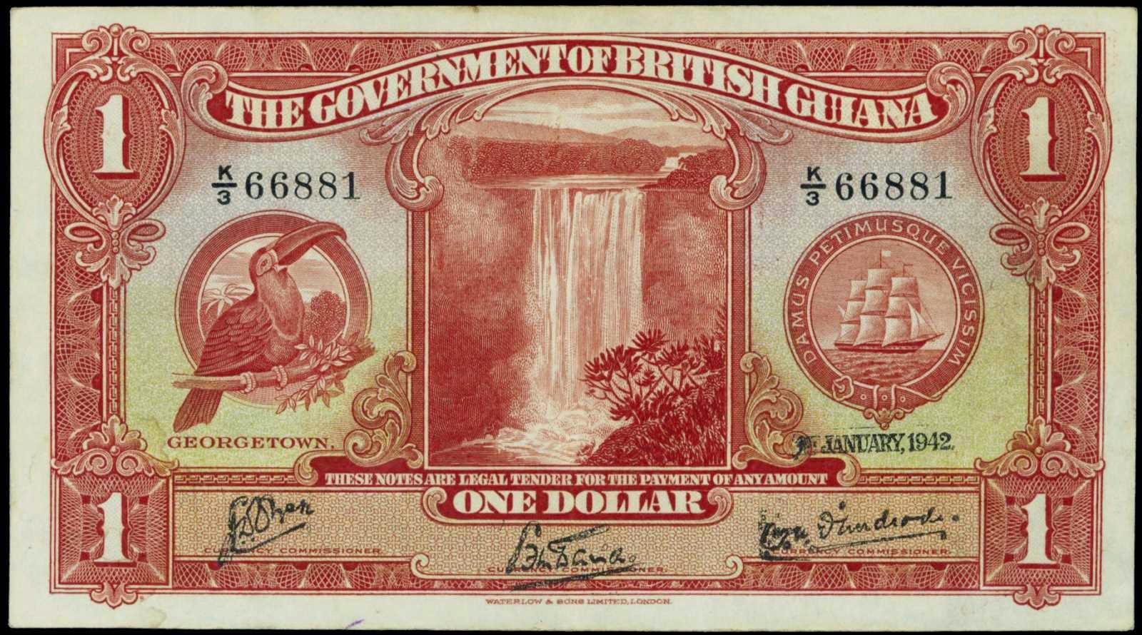 British Guiana Dollar