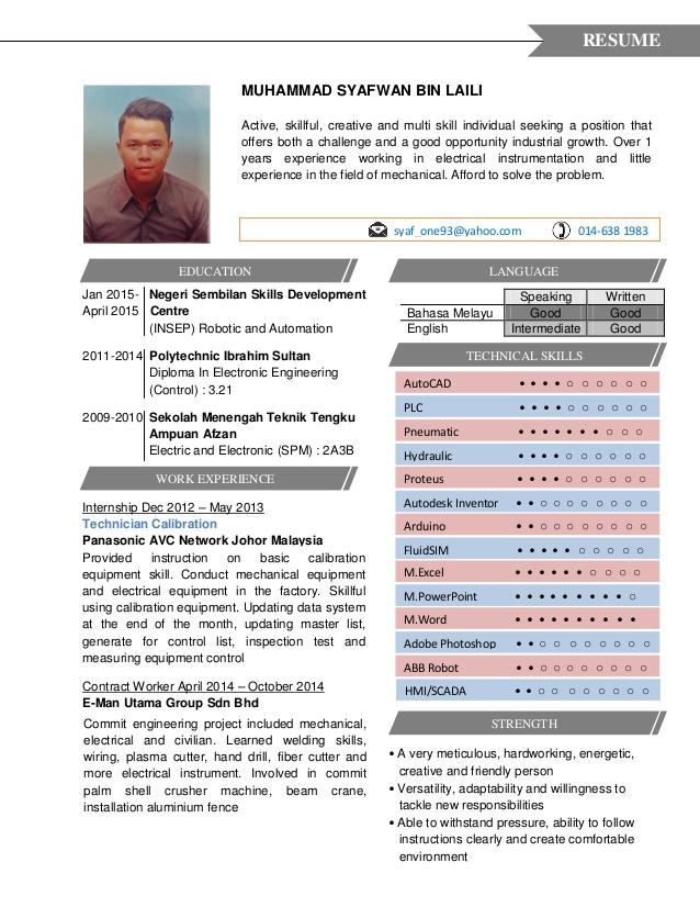 contoh curriculum vitae dalam bahasa inggris lengkap ben