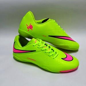 Sepatu Futsal Nike Hypervenom Hijau Harga 130rb. Keterangan  Kw Super. 300867d9b5