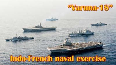 Naval Exercise 'Varuna'