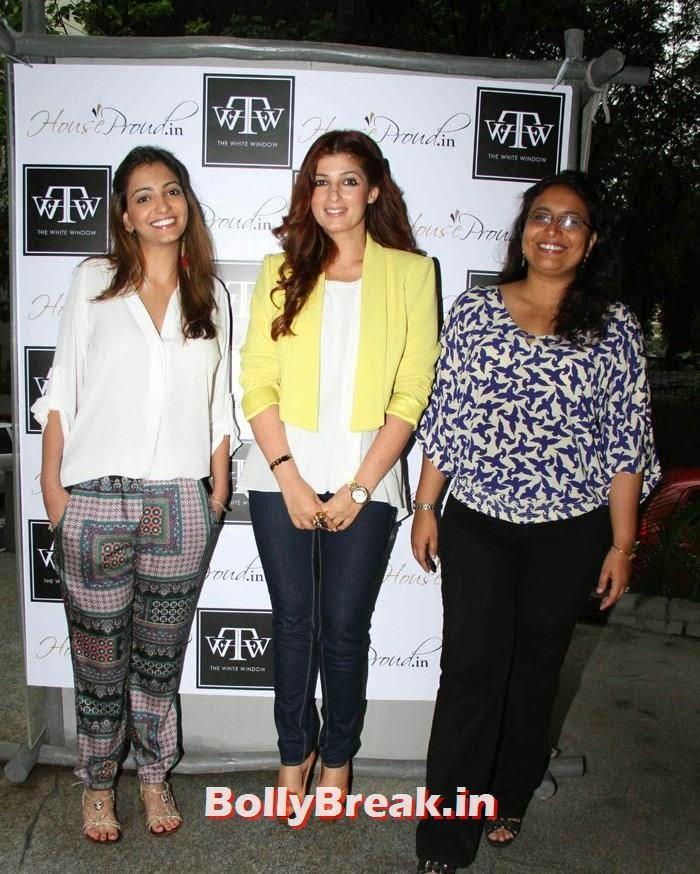 Anjori Alagh, Twinkle Khanna, Sanvari Alagh, Twinkle Khanna at Sanvari & Anjori Alagh's Pop Up Store Launch