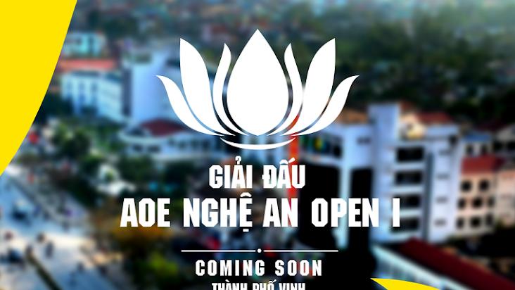 [AoE] Cập nhật Lịch thi đấu chi tiết giải đấu AoE Nghệ An Open I