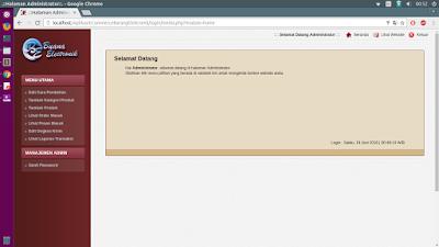 Tutorial PHP : Aplikasi E-Commerce Penjualan Barang Elektronik - Gratis