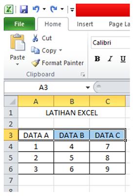 Cara Menggabungkan Baris Di Excel : menggabungkan, baris, excel, Cepat, Mengubah, Ukuran, Baris, Kolom, Office, Excel, AneIqbal
