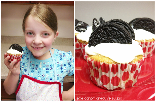 making cupcakes with your kid, fathers day cupcakes, recipe for kids