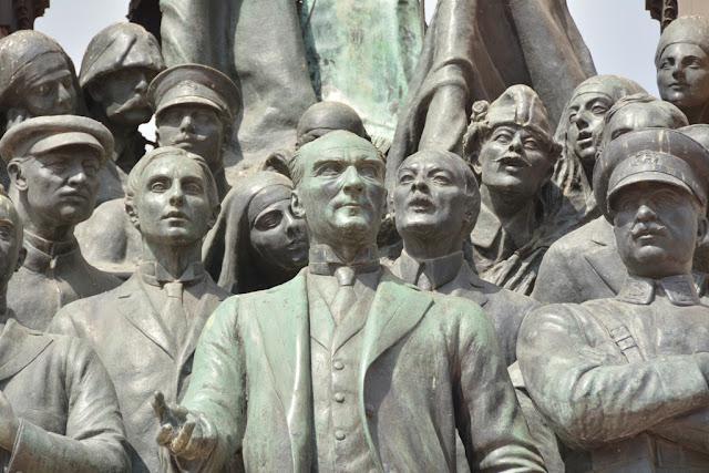 Ataturk on Taksim Square