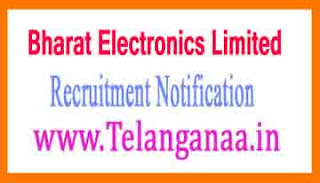 Bharat Electronics Limited BEL Recruitment Notification 2017