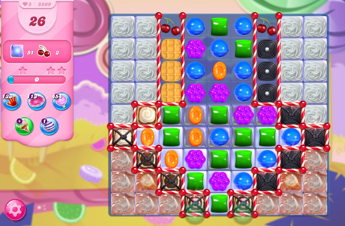 Candy Crush Saga level 5569