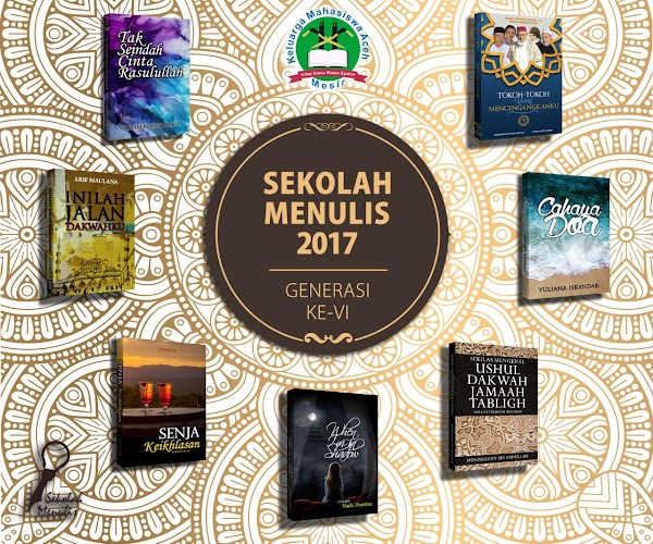 Di Tengah Anggapan Miskin Karya Tulis, Masisir Melalui Sekolah Menulis KMA Aceh Torehkan 6 Buah Karya Tulis Baru