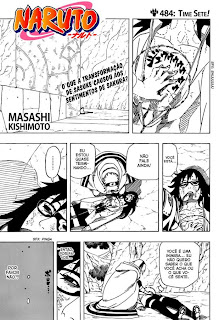 Naruto Mangá 484 – (Leitura Online)