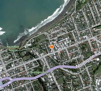 Del Surfboards in New Plymouth map