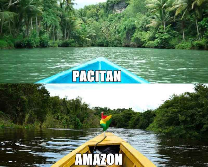 Pacitan vs amazon