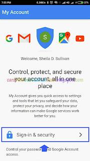 Cara Mengganti Sandi Akun Google