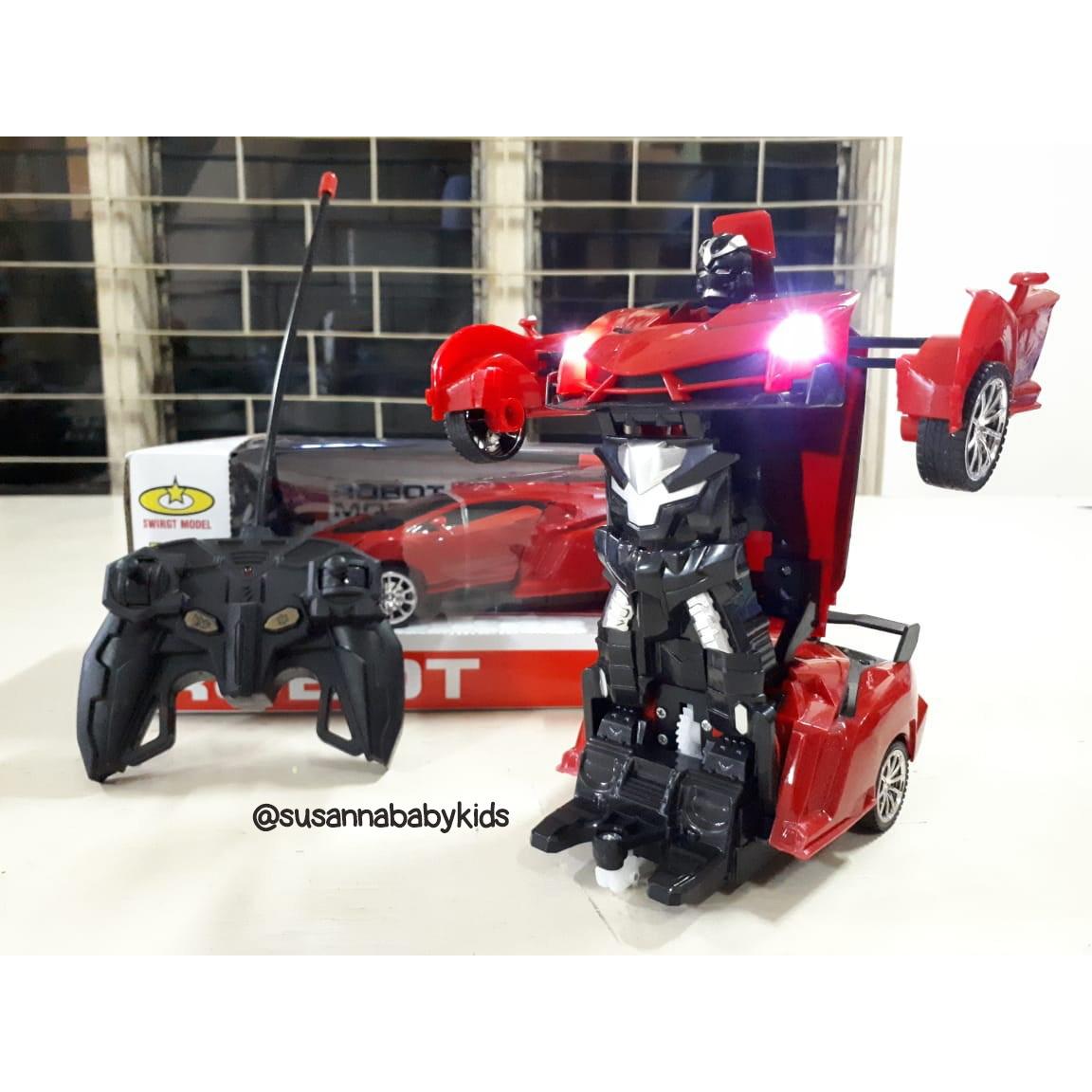 Rc Deformation Robot 898 674 Merah Susanna Baby Kids