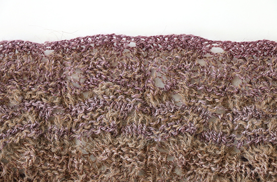 Bottom Edge of Knit Talland Tee Pattern