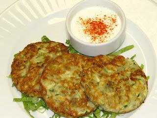 Zucchini Pates (Kabak Mucveri)