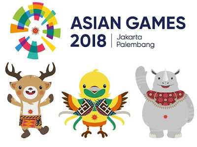 maskot asian games
