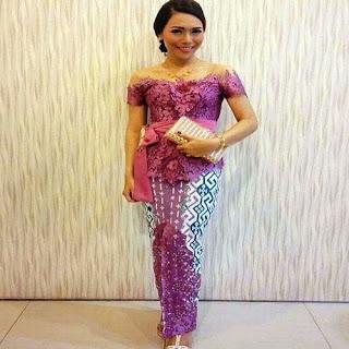 contoh model rok batik untuk kebaya