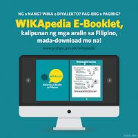 WIKApedia E-Booklet, Kalipunan ng mga aralin sa Filipino