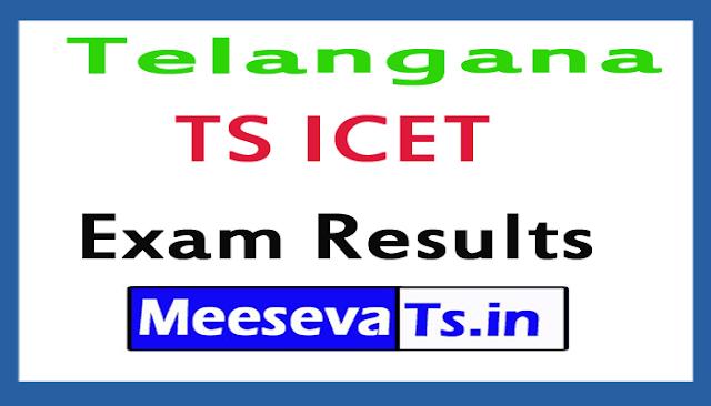 Telangana TS ICET Exam Results 2018