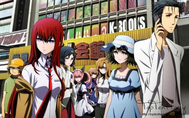 Steins;gate - anime du hành thời gian - toptenhazy.blogspot.com