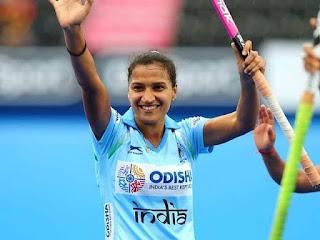Rani Rampal won the 'World Games Athlete of the Year' Award
