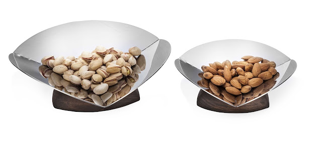 Delta Nut Bowls by Arttdinox for Rs. 1500 ( large) and Rs.1250 ( small)