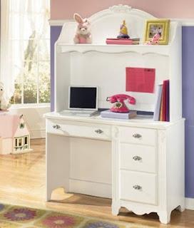 White Desk White Desk With Hutch