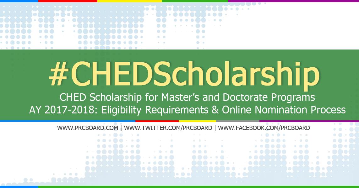 CHED-PhilFrance Scholarship 2018 | Deadline: 13 April 2018