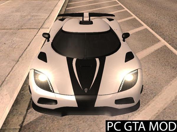 Free Download  Koenigsegg Agera R  Mod for GTA San Andreas.