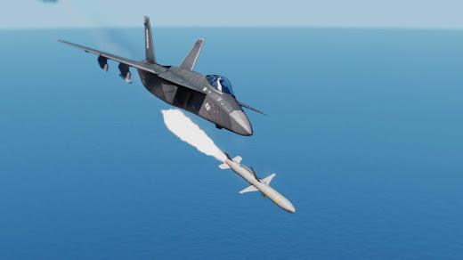 Arma3のバージョン1.84で追加された対レーダー ミサイル