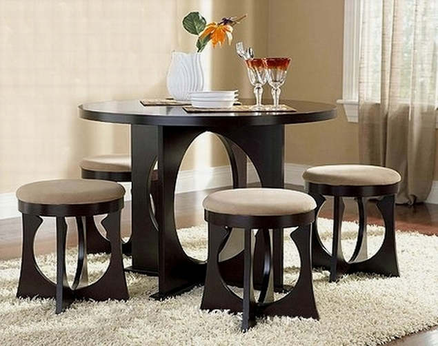 interesting dining room tables | More than 50 Unique Dining Table/ Area Design For Small ...