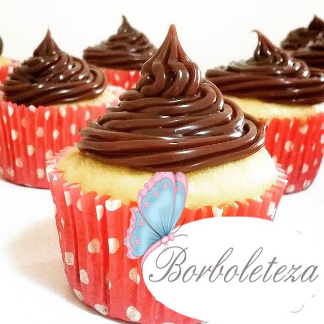 Como fazer cobertura pra cupcake de brigadeiro