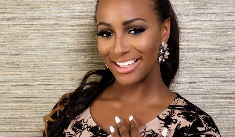 DJ Cuppy flashes her lover online, covers his face