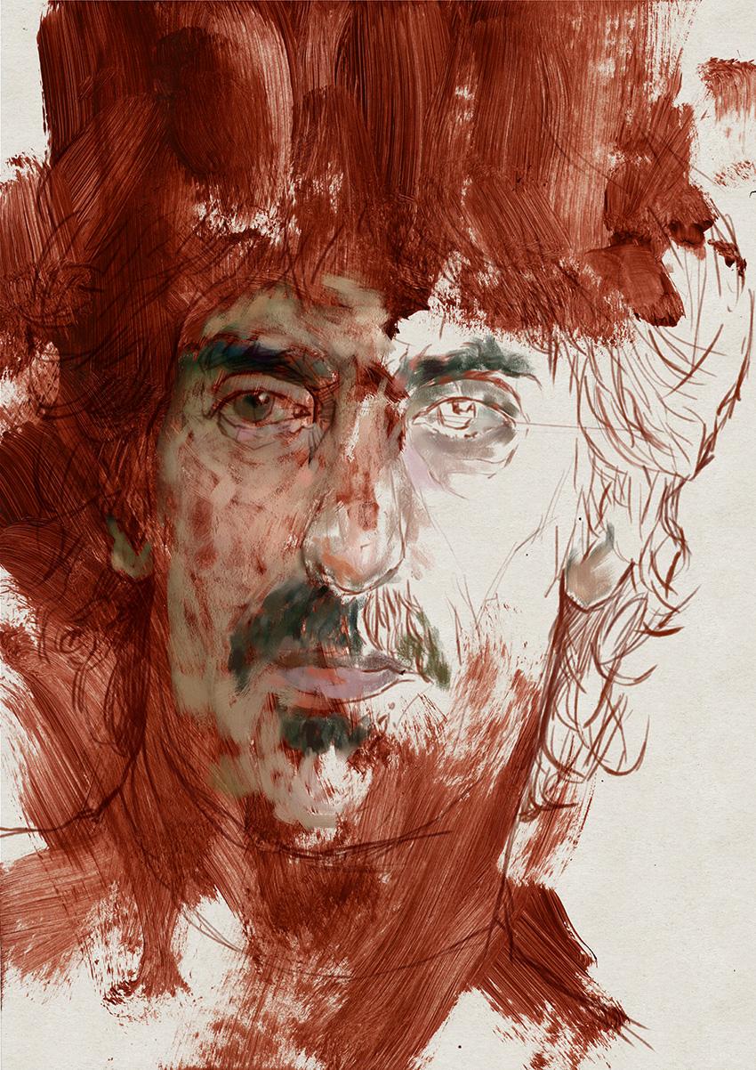 Portrait 268 Frank Zappa