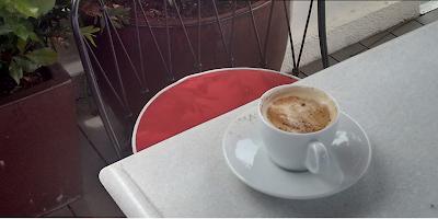 La terraza de the principal. Cafe
