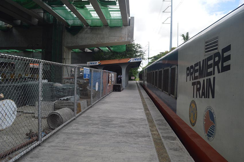 Pampanga-Laguna PNR railway project Build Build Build