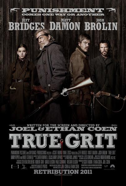 Poster Of True Grit 2010 720p Hindi BRRip Dual Audio Full Movie Download